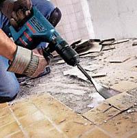 Удаление напольного покрытия